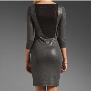 Alice + Olivia Sparkling Bodycon Dress Size 2